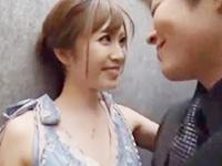 志戸哲也 イケメン彼氏とのデート帰りにエレベーターの中で熱くキスを交わしお洒落なリビングで目隠し&拘束プレイでいつもよりも乱れちゃう美人彼女の濃密ラブラブエッチ JavyNow女の子のための無料アダルト動画