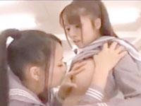 【レズ】橘ひなた/あずみ恋 生徒会長の座をかけて教室で責め合っちゃう美人JK達のレズバトル 裏アゲサゲ女の子のための無料アダルト動画