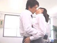 藤木一真 誰もいないオフィスでイケメン上司と抱き合いながら唇を重ね合う大胆な美人OLお姉さん 裏アゲサゲ女性専用安心安全無料エロ動画
