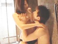 玉木玲 高級ホテルのバスルームで彼氏と激しく求め合うスタイル抜群な巨乳美女の官能エッチ 裏アゲサゲ女性向け無料AV動画