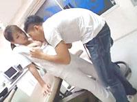 黒田悠斗 閉院後の夜の歯科医でマッチョ男子と求め合っちゃう美人歯科衛生士の大胆エッチ 裏アゲサゲ女性専用安心安全無料エロ動画